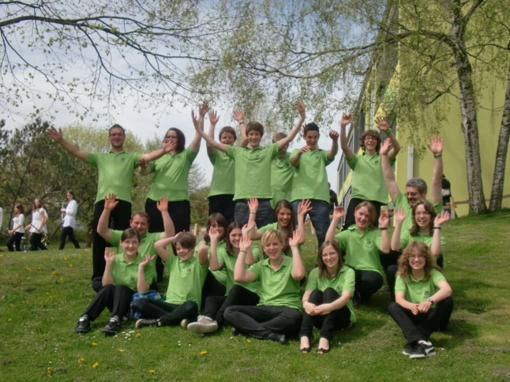 Wertungsspiel der vereinseigenen Jugendkapelle 2012