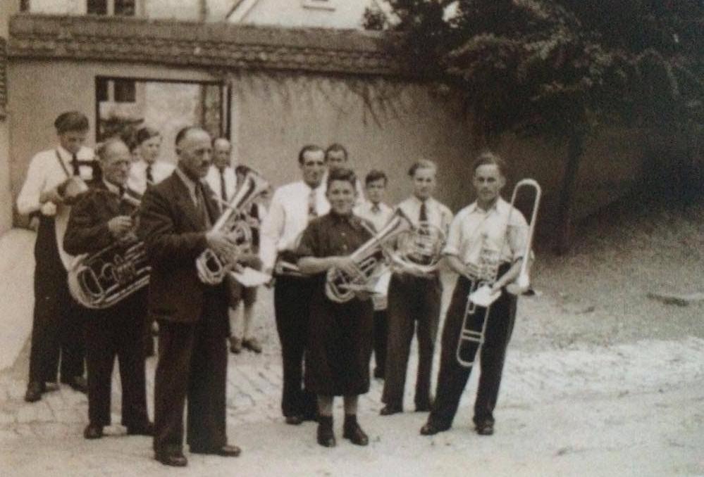 Der Musikverein im Jahre 1950