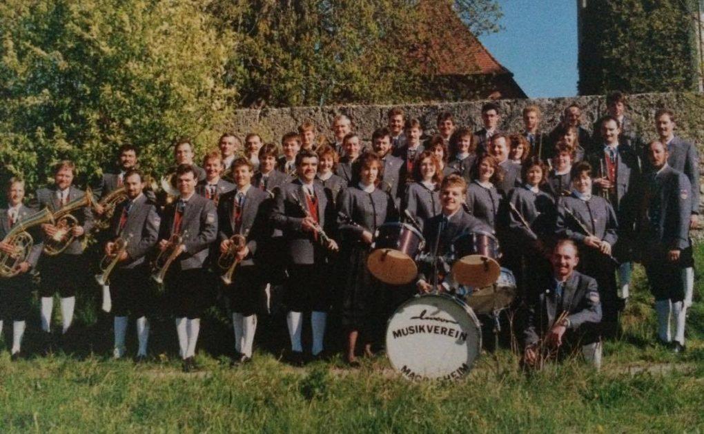 Der Musikverein im Jahr 1990