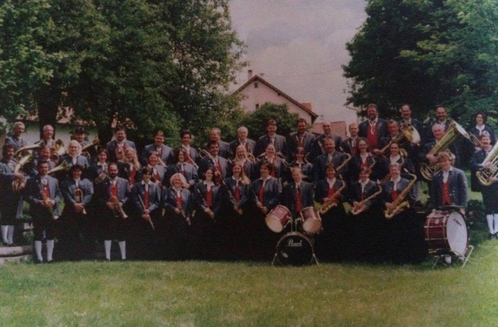 Der Musikverein im Jahr 2000